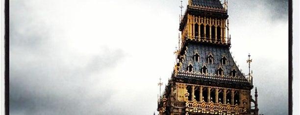 Elizabeth Tower (Big Ben) is one of London Favorites.