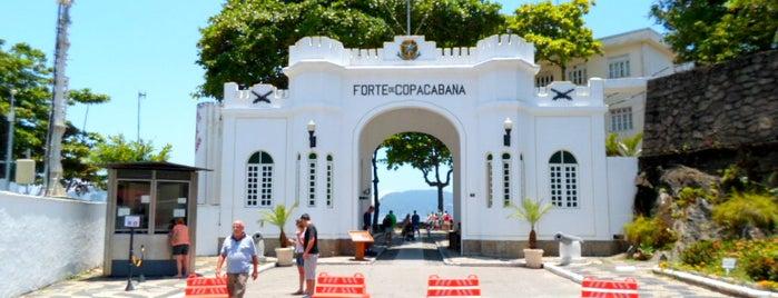 Forte de Copacabana is one of Rio de Janeiro por Sáimon Rio.