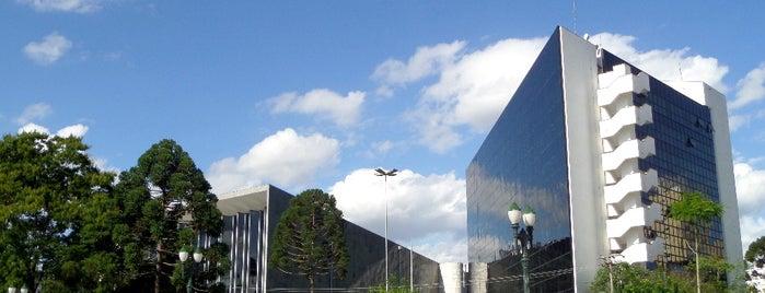 Centro Cívico is one of Curitiba, Capital do Paisagismo e Bom Gosto.