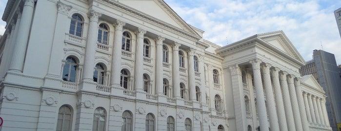 UFPR - Universidade Federal do Paraná is one of Curitiba, Capital do Paisagismo e Bom Gosto.
