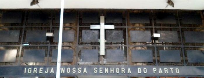 Igreja Nossa Senhora do Parto is one of Rio de Janeiro por Sáimon Rio.