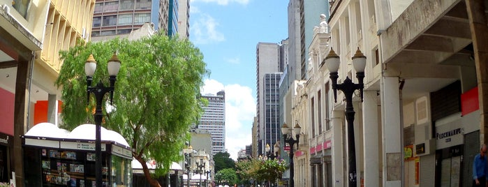 Rua XV de Novembro is one of Curitiba, Capital do Paisagismo e Bom Gosto.
