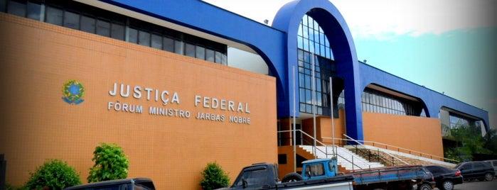 Justiça Federal-Ro is one of Porto Velho, Orgulho Amazônia Ocidental.