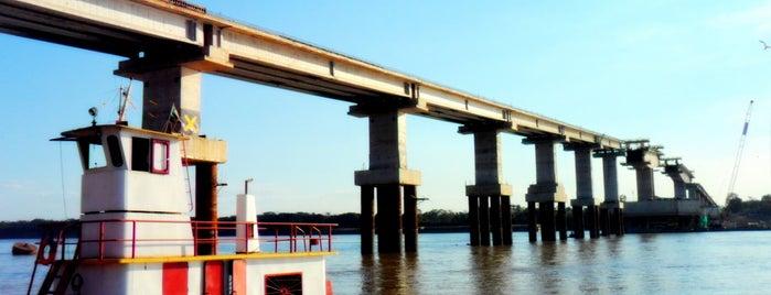 Ponte sobre o Rio Madeira (BR-319) is one of Porto Velho, Orgulho Amazônia Ocidental.