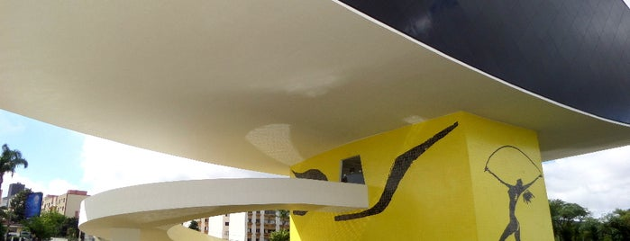 Museu Oscar Niemeyer (MON) is one of Curitiba, Capital do Paisagismo e Bom Gosto.