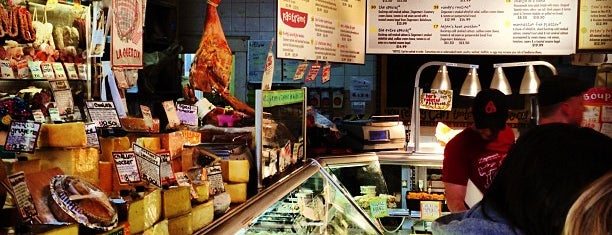 Zingerman's Delicatessen is one of Detroit + Ann Arbor.