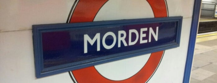 Morden London Underground Station is one of United Kingdom, UK.