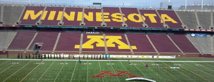 TCF Bank Stadium is one of Posti che sono piaciuti a Kristen.