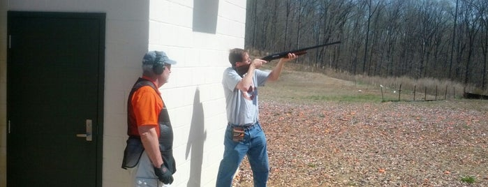 Clemson Shooting Range is one of Lieux sauvegardés par Joshua.