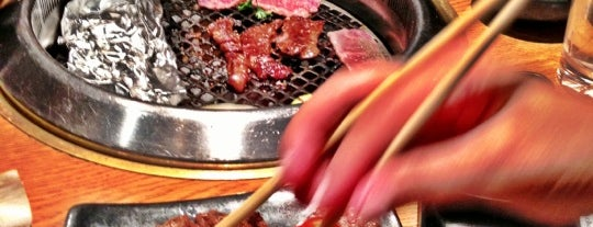 Gyu-Kaku Japanese BBQ is one of Orte, die R gefallen.