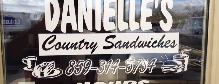 Danielle's Country Sandwiches is one of John : понравившиеся места.
