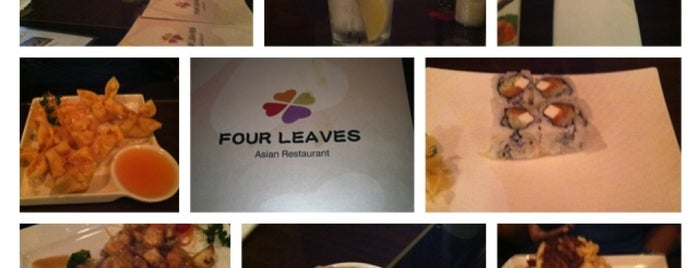 Four Leaves Asian Restaurant is one of Posti salvati di George.