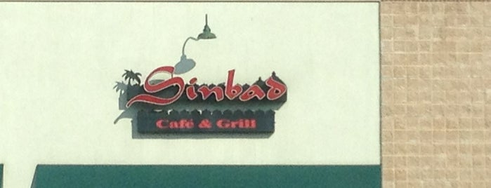 Sinbad Cafe & Grill is one of Lieux sauvegardés par Lily.