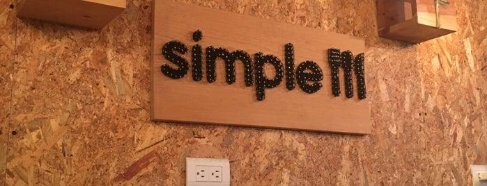 Simple is one of Lugares favoritos de Armando.