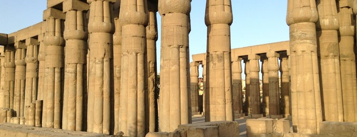 Luxor Temple is one of Orte, die Olivia gefallen.