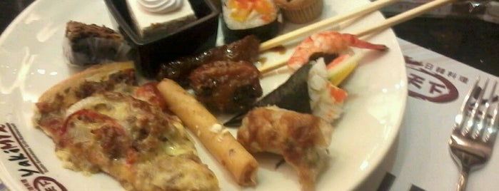 YakiMix Sushi & Smokeless Grill is one of tsibog.