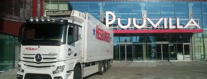 Kauppakeskus Puuvilla is one of Shopping malls.