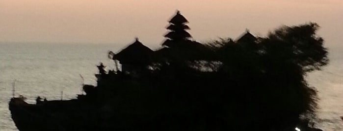 Pantai Tanah Lot is one of Bali's Best.