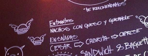 Naif Sandwich & Bar is one of Ruta del tenedor Madrid.