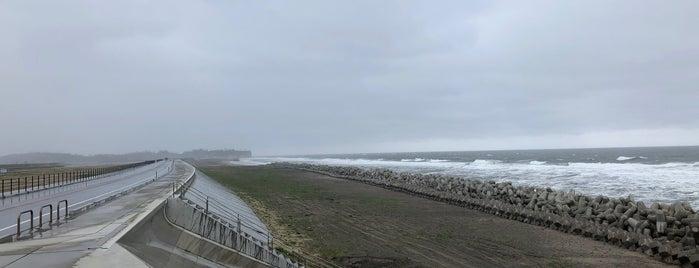 大洲海岸 is one of 日本の渚百選.