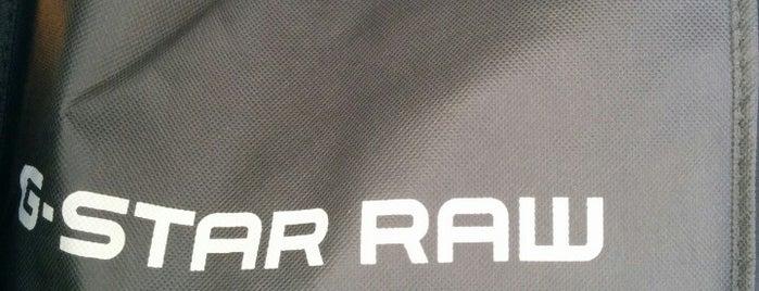 G-Star RAW Store is one of Tempat yang Disukai Katia.