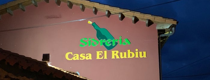Sidrerìa El Rubiu is one of Restaurantes.