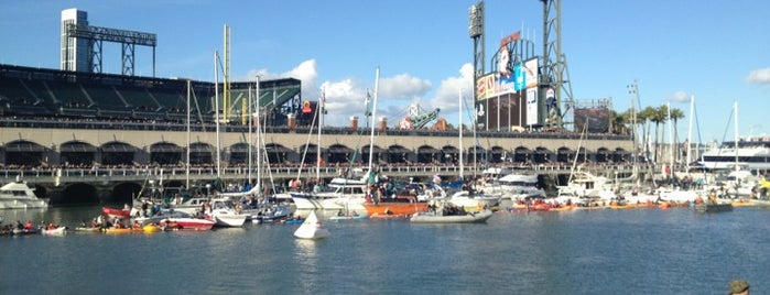 McCovey Cove is one of Cali.