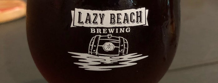 Lazy Beach Brewery is one of Rowdy 님이 좋아한 장소.