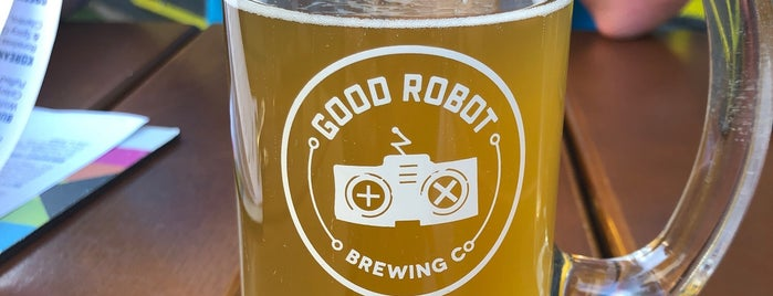 Good Robot Brewing Company is one of Daniel's Saved Places.