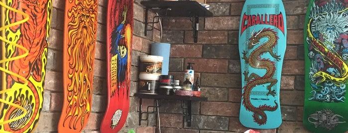 Zamacueca Barber Shop is one of Tempat yang Disukai Juan.
