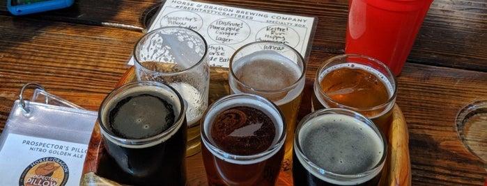 Horse & Dragon Brewing Company is one of Tempat yang Disukai Claudia.