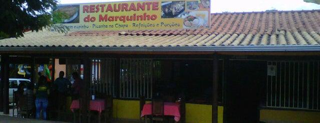 Restaurante do Marquinho is one of Orte, die Mateus gefallen.