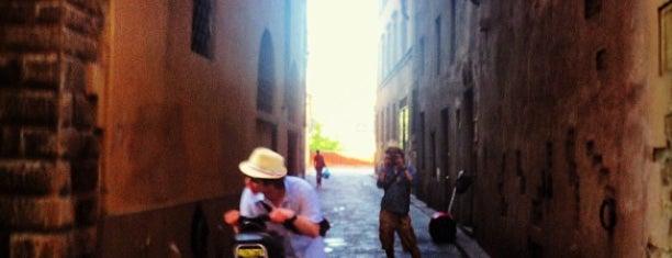 Via Santo Spirito is one of Florence.