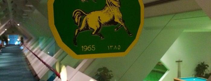 نادي الفروسية is one of Lieux sauvegardés par Queen.