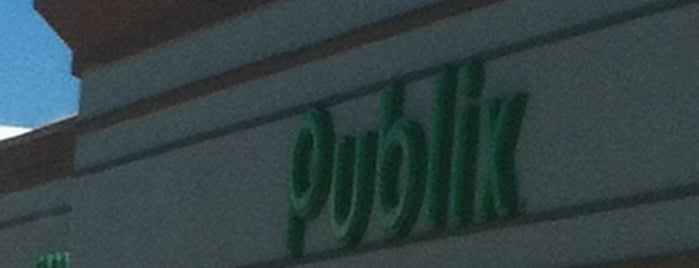 Publix is one of Lieux qui ont plu à Gavin.