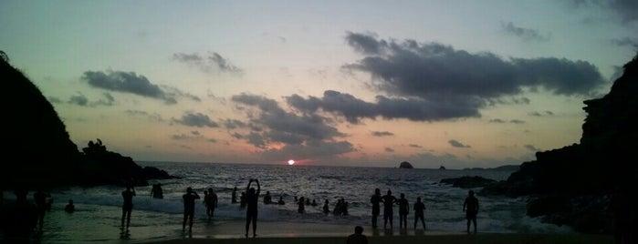 Playa del amor is one of Locais curtidos por Javier.