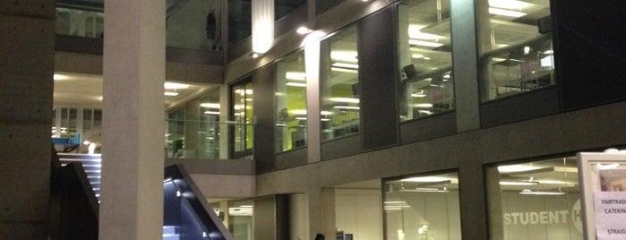 Manchester Met Business School is one of Манчестер.