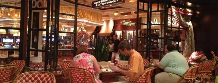 The Cafe At The Wynn is one of Locais curtidos por Kyusang.