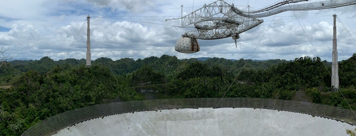 Arecibo Observatory is one of Tempat yang Disukai Alfred.