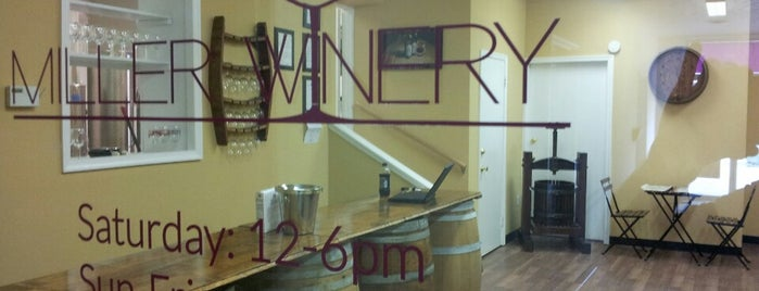Miller Winery is one of VA.