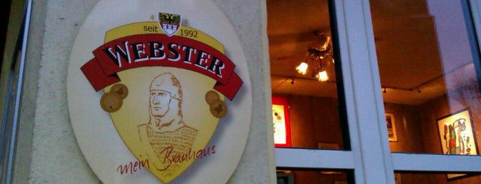 Webster is one of Brauerei.