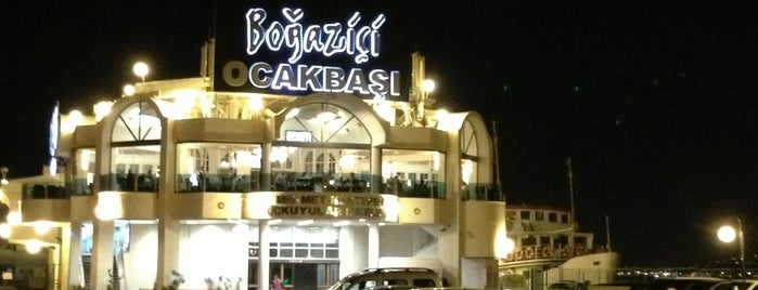 Boğaziçi Restaurant is one of Locais salvos de Recep Kader.