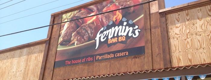 Fermin's Bar BQ is one of Aruba.
