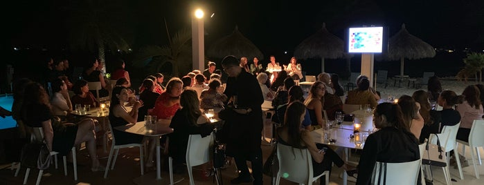 White Modern Cuisine is one of Aruba.