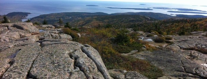 Cadillac Mountain is one of New England Vacation.