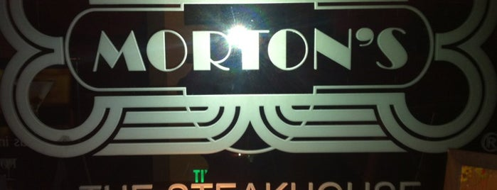 Morton's The Steakhouse is one of Alejandro 님이 좋아한 장소.