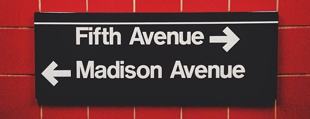 MTA Subway - 5th Ave/53rd St (E/M) is one of Lieux qui ont plu à Alberto J S.