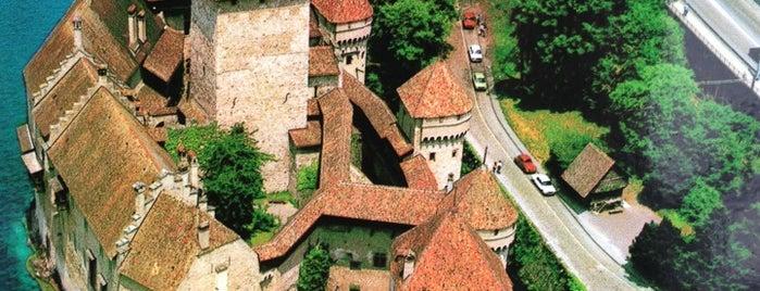 Château de Chillon is one of Suiça - onde ir.