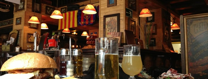 La Taverna de Barcelona is one of Barcelona - bars for watching football.