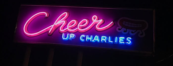 Cheer Up Charlie's is one of Austin Recs.